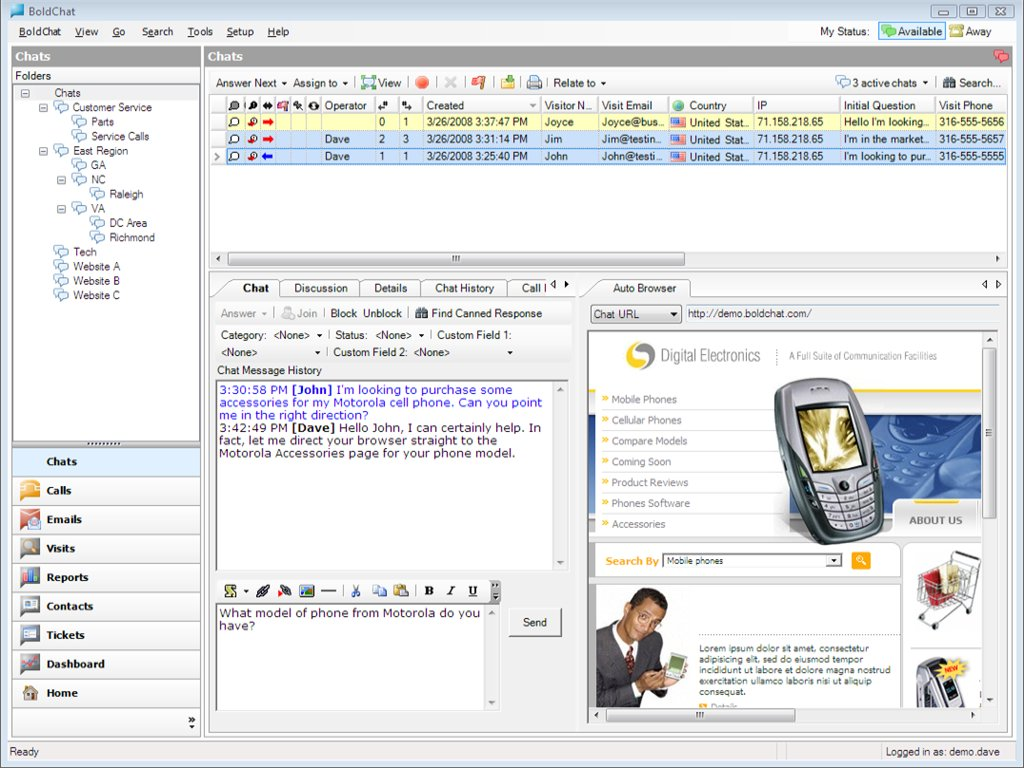 Boldchat Screenshot